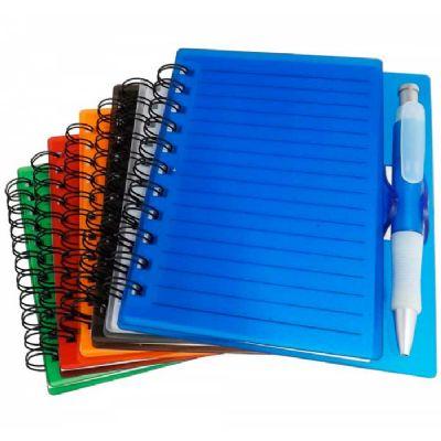 topy-10-brindes - Bloco de anotações com caneta