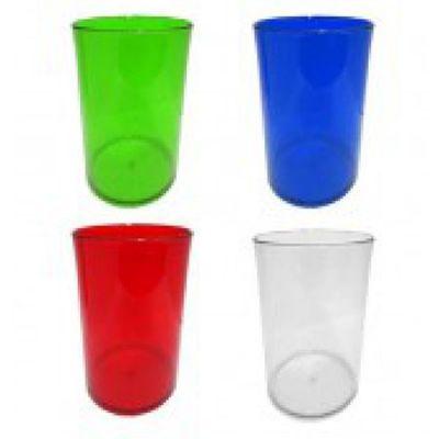 topy-10-brindes - Copo acrílico transparente, capacidade de 350 ml.