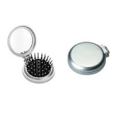 Escova com espelho, material de plástico. - Topy 10 Brindes