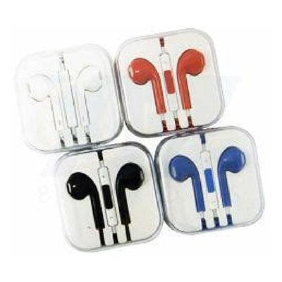 - Fone de ouvido em caixinha acrílica, com controle de volume e microfone. Nas cores – vermelho, preto, branco e azul. Tamanho total:  6,0 cm x 6,0 cm P...