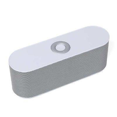 3rc-brindes - Caixa de som bluetooth/wireless emborrachada com entrada USB, micro USB, cartão micro SD e rádio.