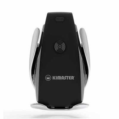 3RC Brindes - Suporte veicular para celular com carregamento turbo wireless