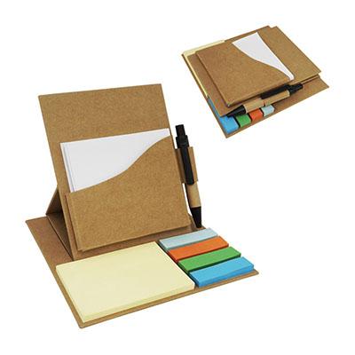 3RC Brindes - Bloco de anotação com sticky notes