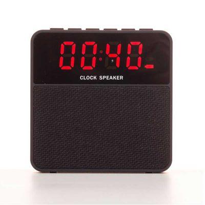 3RC Brindes - Caixa de som Bluetooth com relógio