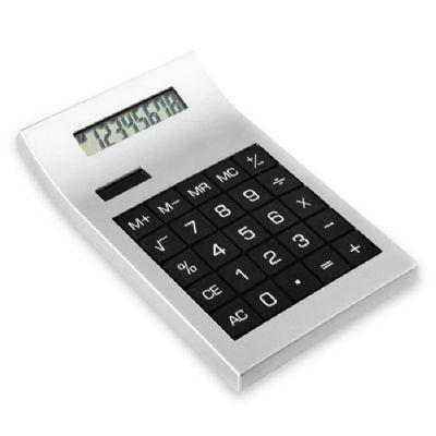 3rc-brindes - Calculadora plástica com teclado