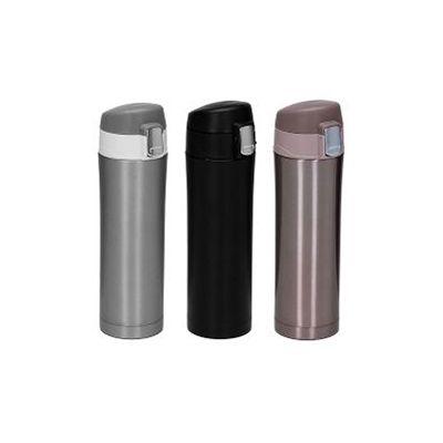 3RC Brindes - Garrafa térmica de 450 ml de metal