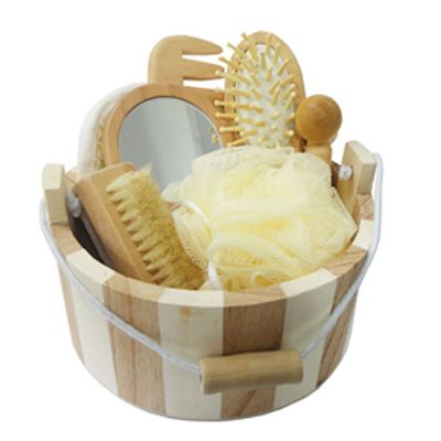 3rc-brindes - Kit banho ecológico com 7 peças