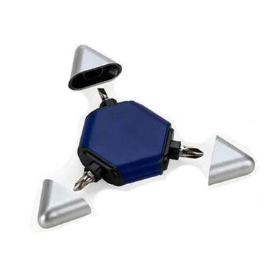 3RC Brindes - Kit ferramenta três peças com trena, duas chaves philips e duas chaves de fenda