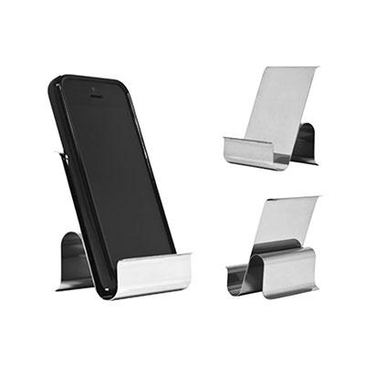 3RC Brindes - Porta-celular de inox