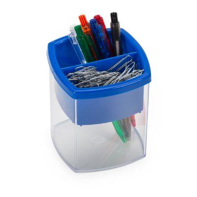 3RC Brindes - Porta caneta e clips com formato de casa