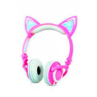 O Headset Orelhas de Gato é um opção divertida para quem gosta de unir estilo e tecnologia. Compatível com smartphones, tablets e computadores, o Head... - Diferente Mente Brindes