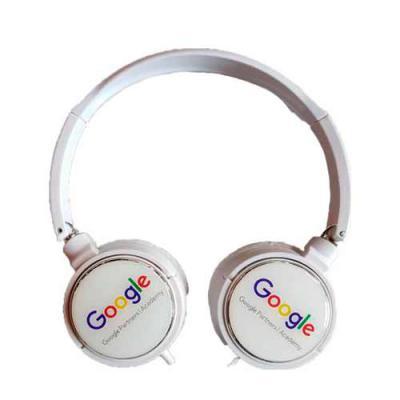 Fone de ouvido Head phone com regulagem de tamanho. - Diferente Mente Brindes