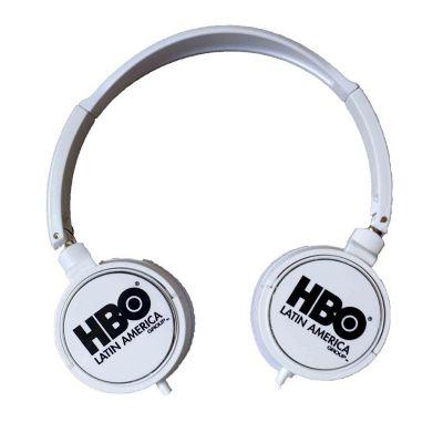 Fone de ouvido Head phone com regulagem de tamanho.