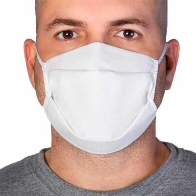 Máscara de Proteção em TNT 40 - Dupla Camada