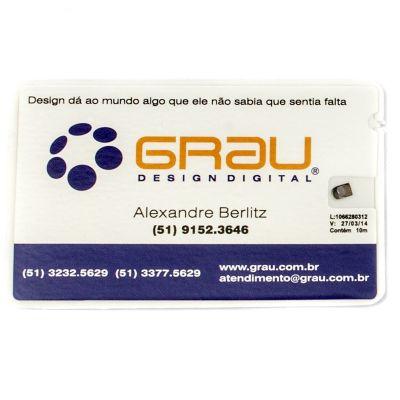 9a540b5ea Cartão promocional com fio dental que pode funcionar como um cartão de  visitas diferenciado.