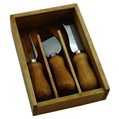 brindes-e-ideias - Kit queijo com 3 peças
