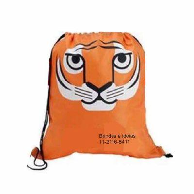 brindes-e-ideias - Saco mochila infantil