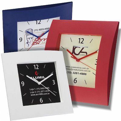 brindes-e-ideias - Relógio de parede personalizado.