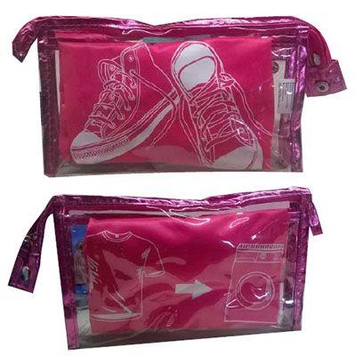 brindes-e-ideias - Kit saco em nylon personalizado.