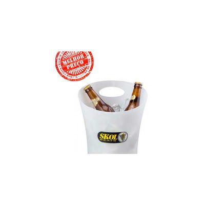 Energia Brindes - Balde de gelo personalizado para cerveja.