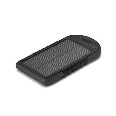 Energia Brindes - Bateria portátil solar personalizada.