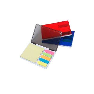 Energia Brindes - Bloco de anotações personalizados com sticky notes.