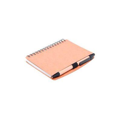 Bloco de anotações personalizado, espiral com 70 folhas. - Energia Brindes