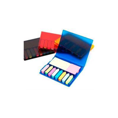 Energia Brindes - Bloco de anotações personalizado. Acompanha sticky note colorido.