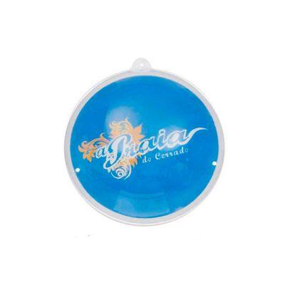 Energia Brindes - Bola inflável personalizada de PVC cristal e impressão em silk.