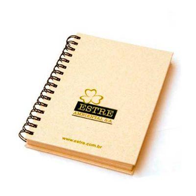 Energia Brindes - Caderno promocional.