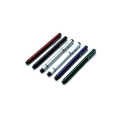 Caneta marca texto. Com corpo em metal em cores diversas pode ser personalizado com impressão a laser