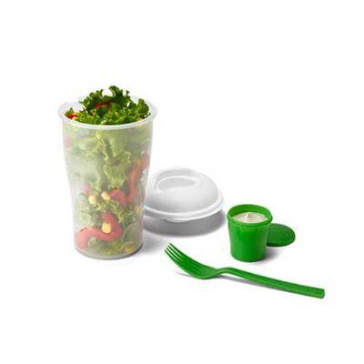 Energia Brindes - Copo personalizado para salada.