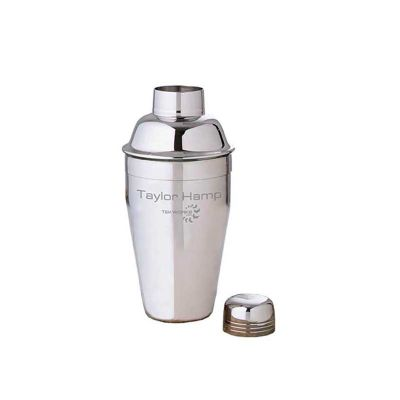 Energia Brindes - Coqueteleira personalizada em aço inox.