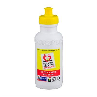 Energia Brindes - Garrafas Squeezes. Personalizadas, em material plástico e com capacidade de 500 ml.