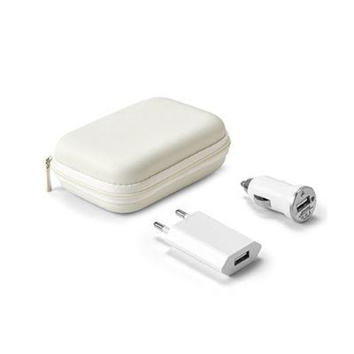 Energia Brindes - Kit de carregadores para Brindes.