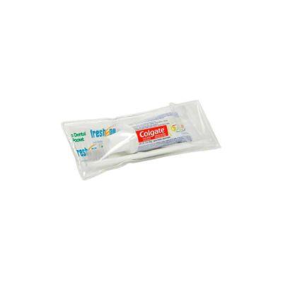 - Conjunto higiene personalizado com: 01 Creme dental (Colgate Total 12) 30g, 01 Escova dental 23 tufos, 01 Fio dental sachet 45cm, 01 Estojo (15X5cm)....