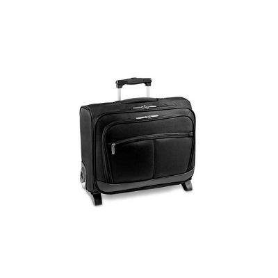 Malas de Viagem com Porta Notebook em couro sintético com compartimento para notebook. Interior forrado e almofadado. Pegador extensível em alumínio c... - Energia Brindes