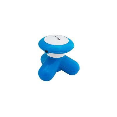 Energia Brindes - Massageador Elétrico Personalizado, manual funciona com encaixe USB, ou com 3 pilhas do tipo AAA, disponível em cores diversas