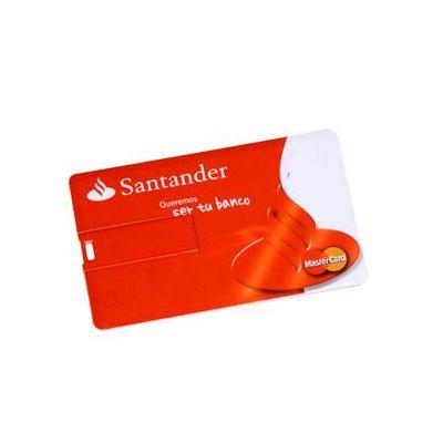 energia-brindes - Pen drive cartão personalizado.