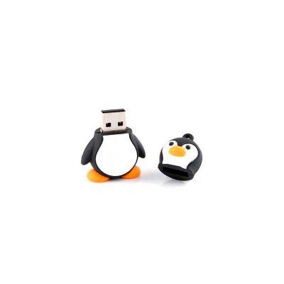 energia-brindes - Pen drive personalizado em formato de pinguim.
