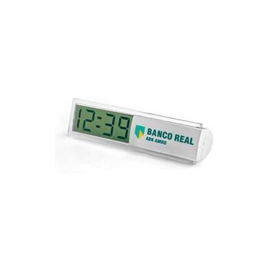 Relógio de mesa personalizado. - Energia Brindes