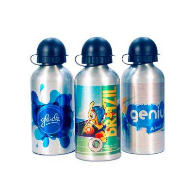 Energia Brindes - Squeeze personalizado de alumínio, com impressão digital.