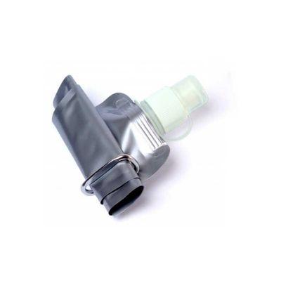 Energia Brindes - Squeeze de Plástico Dobrável. Feito em material plástico e com capacidade de 480 ml.