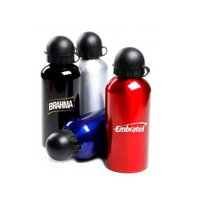 energia-brindes - Squeeze inox personalizado com capacidade de 400 ml.