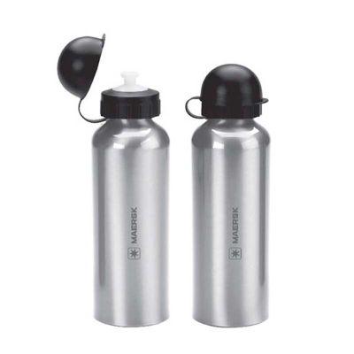 Energia Brindes - Squeeze de alumínio personalizado. Com capacidade de 500 ml e impressão da marca a laser ou silk.
