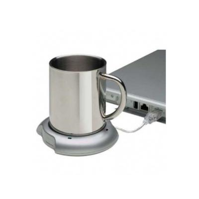 Energia Brindes - Hub Personalizado com Aquecedor de Canecas Personalizado | Aquecedor de canecas personalizado com duas entradas USB, é o brinde personalizado ideal pa...