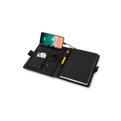 Energia Brindes - Caderno Personalizado com Powerbank