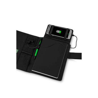 Energia Brindes - Capa para Caderno com Powerbank Personalizada