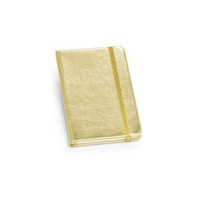 Energia Brindes - Caderno  Capa Metalizada para Brindes