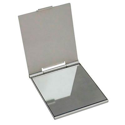 Mini Espelho Personalizado | Mini Espelho de Bolso Personalizado. Em material plástico resistente é um ótima opção para presentear clientes e colaboradores. | ST ES122P53